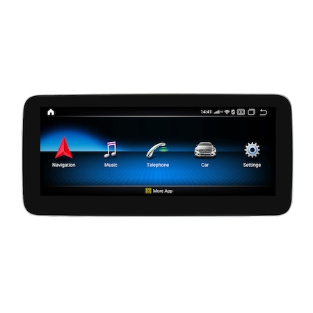Navigatie NAVI-IT, 4GB RAM 64 GB ROM, Android9.1 Mercedes Benz A GLA CLA G Class NTG 5.0 [0]