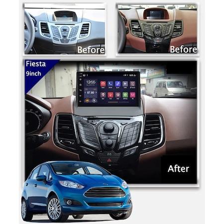 """Navigatie NAVI-IT  1 GB RAM + 16 GB ROM , Gps Ford Fiesta ( 2009 - 2017 ) , Android , Display 9 """" , Internet, Aplicatii , Waze , Wi Fi , Usb , Bluetooth , Mirrorlink [4]"""