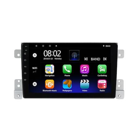 Navigatie NAVI-IT, 1GB RAM 16GB ROM,  Android 9, SUZUKI GRAND VITARA 2 fabricat 2005-2013 GPS 9 inch, Waze2