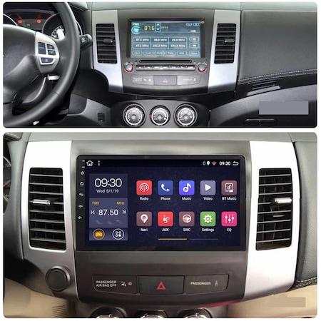 Navigatie NAVI-IT, Mitsubishi Outlander ( 2006 - 2014 ) , Android , Display 9 inch , 1GB RAM + 16 GB ROM , Internet , Aplicatii , Waze , Wi Fi , Usb , Bluetooth , Mirrorlink2