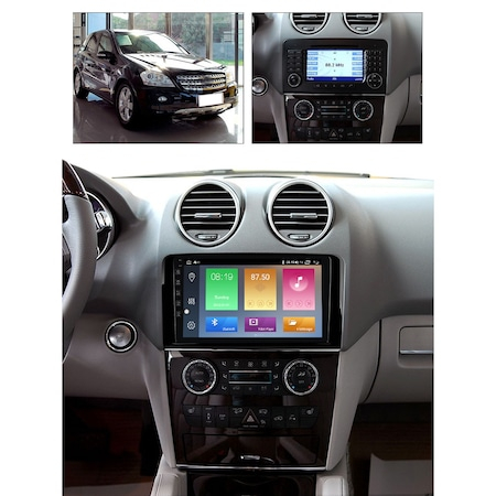 Navigatie NAVI-IT Mercedes ML W164, Ecran 9 Inch, Android 10, 1GB RAM, 16 GB ROM WiFi, Bluetooth, Waze2