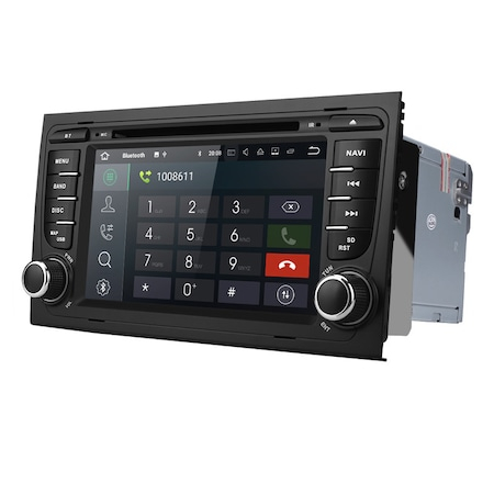 Navigatie NAVI-IT, Gps Audi A4, B6, B7, Seat Exeo , Android 9.1 , 2GB RAM +16GB ROM , Internet , 4G , Aplicatii , Waze , Wi Fi , Usb , Bluetooth , Mirrorlink1
