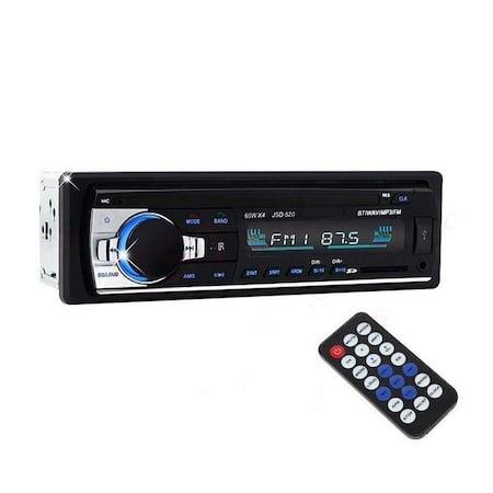 Radio NAVI-IT MP3 auto JSD-520, 4x60W, Bluetooth, Auxiliar , USB, Card Reader2