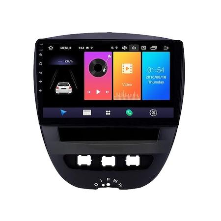 Navigatie NAVI-IT, 1GB RAM 16GB ROM, Peugeot 107 ( 2005 - 2015 ) , Android , Display 9 inch , Internet ,Aplicatii , Waze , Wi Fi , Usb , Bluetooth , Mirrorlink1