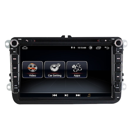 Navigatie NAVI-IT, 1GB RAM 16GB ROM, Volkswagen Android 10, Display 8 inch, WiFi, Bluetooth, GPS,DSP,RDS4