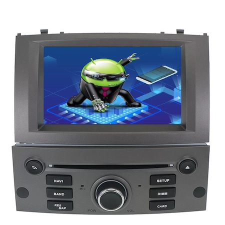Navigatie NAVI-IT, 2GB RAM 16GB ROM, 7Inch, DSP, IPS, Peugeot 407 ,DSP , Wi-Fi , Android 10 , Bluetooth [0]