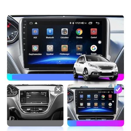 Navigatie NAVI-IT, 1GB RAM 16GB ROM, Peugeot 208 / 2008 ( 2012 - 2020 ) , Android , Display 9 inch, Internet , Aplicatii , Waze , Wi Fi , Usb , Bluetooth , Mirrorlink [1]