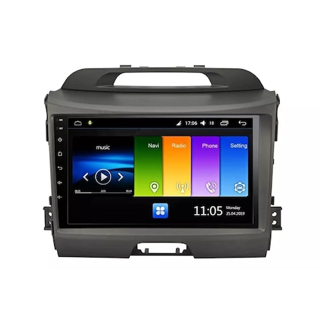 Navigatie NAVI-IT, 2GB RAM 32GB ROM, Kia Sportage ,Wi-Fi, Android,Bluetooth, Magazin Play0