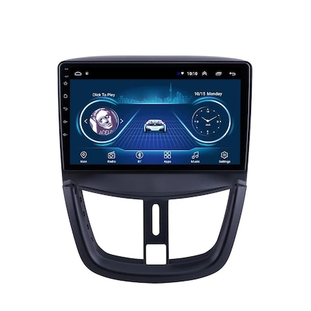 Navigatie NAVI-IT, 1GB RAM 16GB ROM, Peugeot 207 ( 2006 - 2015 ) , Android , Display 9 inch, Internet ,Aplicatii , Waze , Wi Fi , Usb , Bluetooth , Mirrorlink [2]