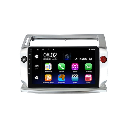 Navigatie NAVI-IT, 1GB RAM, 16GB ROM, Citroen C4 2005-2011, Android 9.1, 9 Inch, WiFi, Bluetooth, Waze2