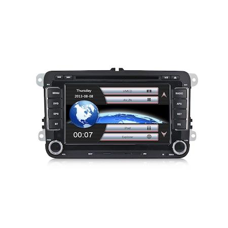Navigatie NAVI-IT, Gps ,VW, Golf, 5, 6, Passat, B6, B7, CC, Tiguan, Touaren, Jetta, Eos, Polo, Sharan, Amarok, Caddy , Windows 6.0 , Dvd Player , Usb , Bluetooth3