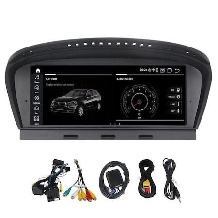 Navigatie NAVI-IT, 4GB RAM 64GB ROM, IPS, DSP, 4G, Android 10 BMW BMW 5 seria E60 E61 E63 E64 3Series E90 E91 CCC - Copie3