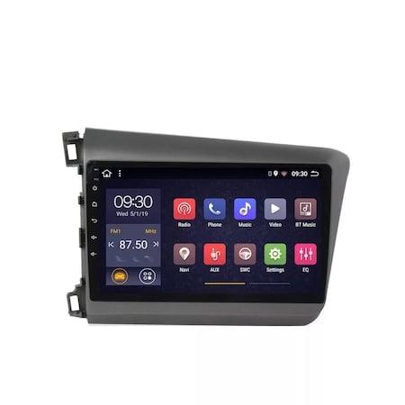 Navigatie NAVI-IT 1GB RAM 16GB ROM, Android Honda Civic ( 2011 - 2015 ) , Display 9 inch, Internet ,Aplicatii , Waze , Wi Fi , Usb , Bluetooth , Mirrorlink4