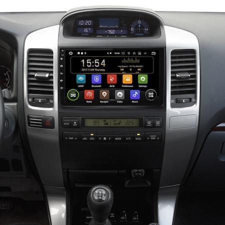 Navigatie NAVI-IT, 1GB RAM 16GB ROM Toyota Land Cruiser J120 Prado ( 2003 - 2009 ) , Carplay , Android , Aplicatii , Usb , Wi Fi , Bluetooth [3]