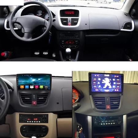 Navigatie NAVI-IT, 1GB RAM 16GB ROM, Peugeot 207 ( 2006 - 2015 ) , Android , Display 9 inch, Internet ,Aplicatii , Waze , Wi Fi , Usb , Bluetooth , Mirrorlink3
