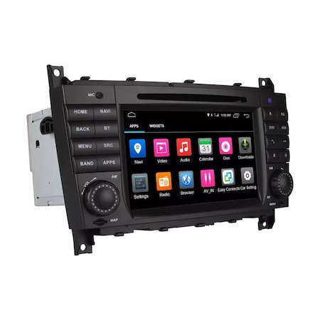 Navigatie NAVI-IT, 2GB RAM 32GB ROM Android 9.1 dedicata Mercedes C-Class, CLC (W203), G-Class (W467) cu DVD + Cadou Card GPS 16 Gb - Copie0