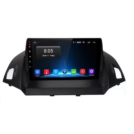 Navigatie NAVI-IT 1 GB RAM + 16 GB ROM ,  Android Ford Kuga ( 2013 - 2017 ) , Display 9 inch ,Internet ,Aplicatii , Waze , Wi Fi , Usb , Bluetooth , Mirrorlink2