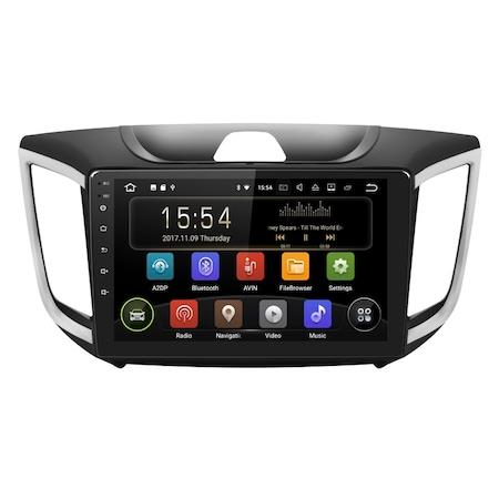 "Navigatie NAVI-IT, 1GB RAM 16GB ROM, Gps Android 9.1 Hyundai ix 25 / Creta , Display 9"", Internet , Aplicatii , Waze , Wi Fi ,Bluetooth , Usb [0]"