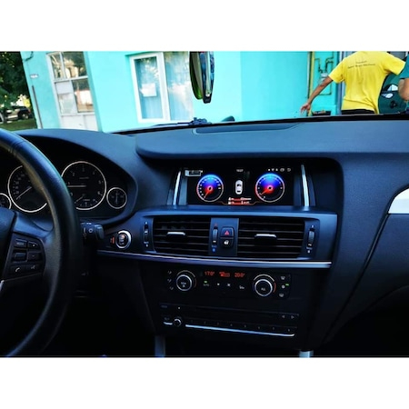 "Navigatie NAVI-IT, 2 GB RAM 32 GB ROM Gps BMW X3 F25 , X4 F26 ( 2013 - 2018 ) pentru NBT , Android 10 ,Waze , Youtube , Wi-Fi, Bluetooth, Quad-Core 1.6 GHz , 8.8"", IPS Touchscreen3"