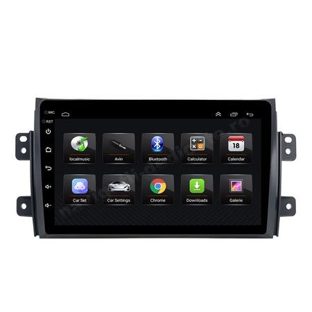 Navigatie NAVI-IT, 4GB RAM 64GB ROM, 4G, IPS, DSP,  Android 10, Suzuki SX4 2GB Ram Ecran 9 inch - Copie1