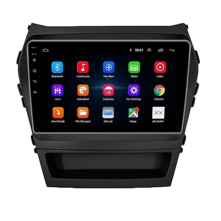 Navigatie NAVI-IT, 2GB RAM 32GB ROM, Hyundai Santa Fe ix 45 ( 2012 - 2017 ) , Android , Display 9 inch, Internet, Aplicatii , Waze , Wi Fi , Usb , Bluetooth , Mirrorlink - Copie2