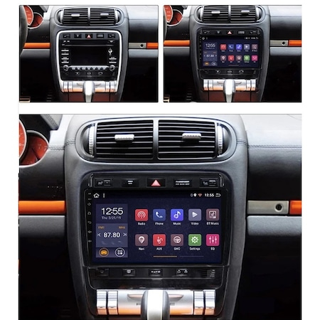 Navigatie NAVI-IT Porsche Cayenne ( 2002 - 2010 ) , Android , Display 9 inch , 2GB RAM +32 GB ROM , Internet , Aplicatii , Waze , Wi Fi , Usb , Bluetooth , Mirrorlink2