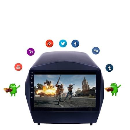 Navigatie NAVI-IT, 1GB RAM 16GB ROM, Hyundai IX 35 ( 2009-2015 ) , Android , Wi-Fi, Android,Bluetooth1