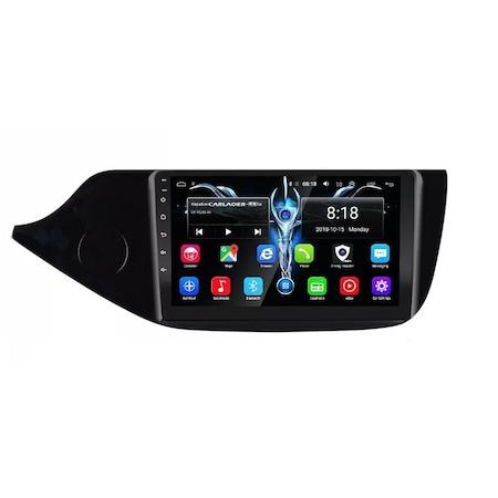 Navigatie NAVI-IT, 4GB RAM 64GB ROM, 4G, IPS, DSP, Kia Ceed ( 2012 - 2020 ) , Android , Display 9 inch, Internet, Aplicatii , Waze , Wi Fi , Usb , Bluetooth , Mirrorlink2
