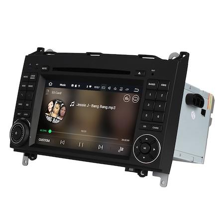 Navigatie NAVI-IT 2GB RAM + 16GB ROM Gps Mercedes Vito Sprinter Viano B200 A B Class VW Crafter , Android 10, Internet, Aplicatii , Waze , Wi Fi , Usb , Bluetooth , Mirrorlink [3]