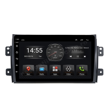 Navigatie NAVI-IT, 4GB RAM 64GB ROM, 4G, IPS, DSP,  Android 10, Suzuki SX4 2GB Ram Ecran 9 inch - Copie2