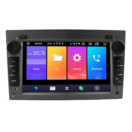 "Navigatie NAVI-IT, 1GB RAM 16GB ROM,  Android 9.1 GPS Pentru Opel Antara, Astra H, Corsa, Meriva, Vectra, Vivaro, Zafira B, Procesor Quad-Core, Display 7"" Full-Touch0"