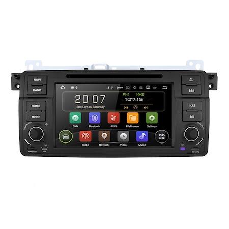 Navigatie NAVI-IT, Gps, BMW Seria 3 E46 ( 1999 - 2006 ) , Android 9.1, 1GB RAM +16GB ROM , Internet , Aplicatii , Waze , Wi Fi , Usb , Bluetooth , Mirrorlink [0]