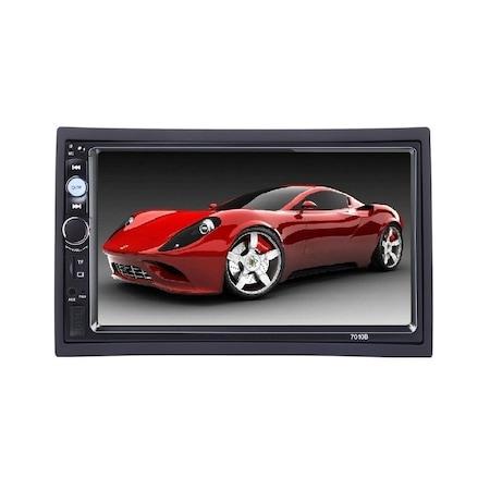 Navigatie MirrorLink mp5 player auto 7010B, Rama,Suporti prindere, Bluetooth, Divix , AVI , USB , SD Card , AUX3