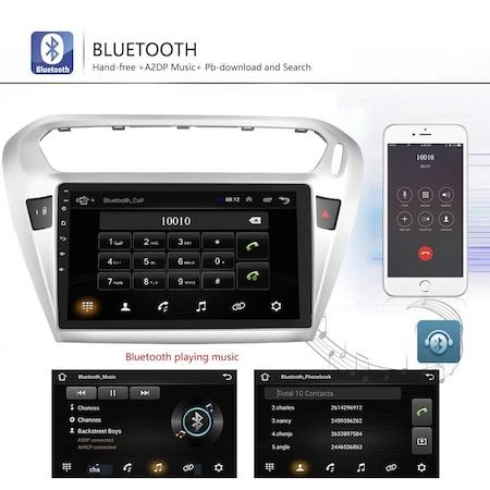 """Navigatie NAVI-IT, 1GB RAM 16GB ROM, Gps Peugeot 301 / Citroen C-Elysee ( 2012 + ) , Android ,Display 10.1 """" , Internet , Aplicatii , Waze , Wi Fi , Usb , Bluetooth , Mirrorlink [2]"""