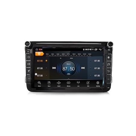 Navigatie NAVI-IT Gps 8 inch VW Golf 5 6 Passat B6 B7 CC Tiguan Touran Jetta Eos Polo Sharan Amarok Caddy , Android , 1 GB RAM + 16 GB ROM , Internet , Aplicatii , Waze , Wi Fi , Usb , Bluetooth , Mir4