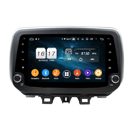 Navigatie NAVI-IT, 1GB RAM 16GB ROM, dedicata,  Android 9.1, Hyundai Tucson 2018-, WiFi, Bluetooth, Magazin Play0