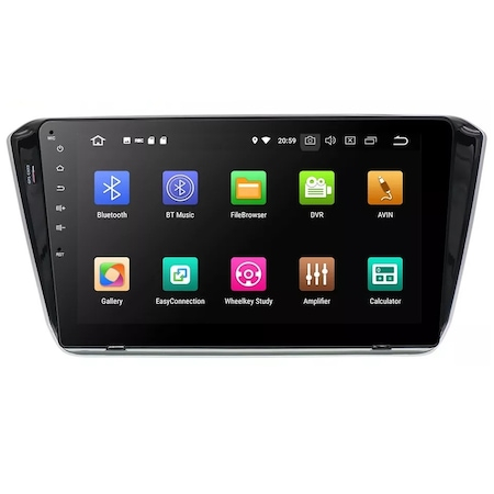 "Navigatie NAVI-IT 1GB RAM + 16GB ROM , Gps Skoda Superb 3 ( 2015 - 2019 ) , Android , Display 10.1 "" , Internet , Aplicatii , Waze , Wi Fi , Usb , Bluetooth , Mirrorlink0"