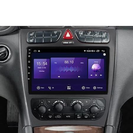 Navigatie NAVI-IT 6GB RAM + 128GB ROM, 4G, IPS, DSP, Mercedes C Class W203 CLK W209 ( 2000 - 2005 ) , Android 11 , Display 9 inch, Internet , Aplicatii , Waze , Wi Fi , Usb , Bluetooth , Mirrorlink [5]