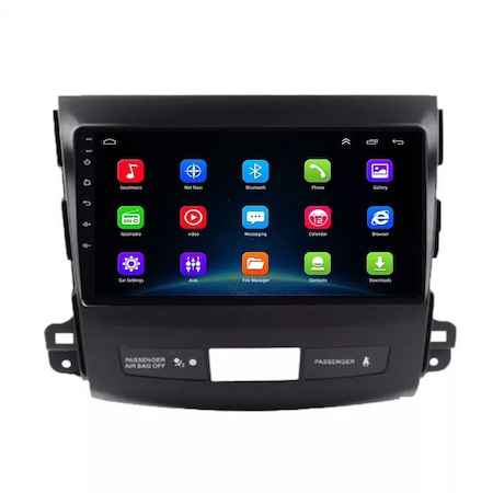 Navigatie NAVI-IT, Mitsubishi Outlander ( 2006 - 2014 ) , Android , Display 9 inch , 1GB RAM + 16 GB ROM , Internet , Aplicatii , Waze , Wi Fi , Usb , Bluetooth , Mirrorlink6