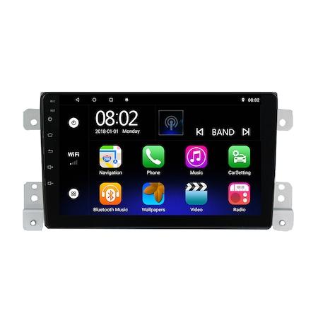 Navigatie NAVI-IT, 1GB RAM 16GB ROM,  Android 9, SUZUKI GRAND VITARA 2 fabricat 2005-2013 GPS 9 inch, Waze4
