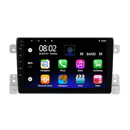 Navigatie NAVI-IT, 4GB RAM 64GB ROM, 4G, IPS, DSP,  Android 9, SUZUKI GRAND VITARA 2 fabricat 2005-2013 GPS 9 inch, Waze4