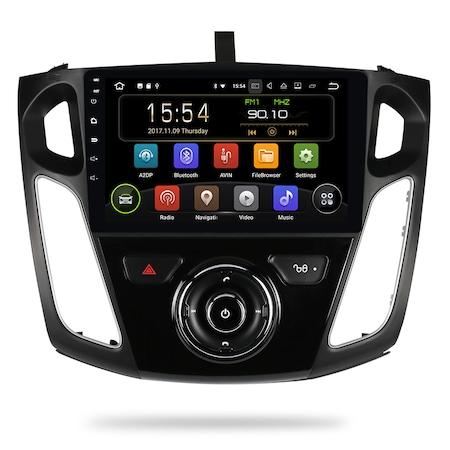 Navigatie NAVI-IT, 4GB RAM 64GB ROM, 4G, IPS, DSP, Gps Ford Focus 2012 - 2018, Android, Internet, Aplicatii, Waze , Wi Fi , Usb , Bluetooth , Mirrorlink - Copie0
