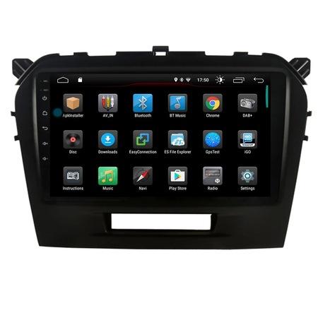 Navigatie NAVI-IT, 2GB RAM 32GB ROM, Suzuki Grand Vitara ( 2016 + ) , Android , Display 9 inch , Internet ,Aplicatii , Waze , Wi Fi , Usb , Bluetooth , Mirrorlink2