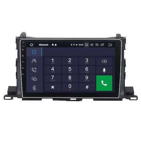 Navigatie NAVI-IT, 1GB RAM 16GB ROM, Toyota Highlander ( 2014 - 2018 ), Carplay , Android , Aplicatii , Usb , Wi Fi , Bluetooth2