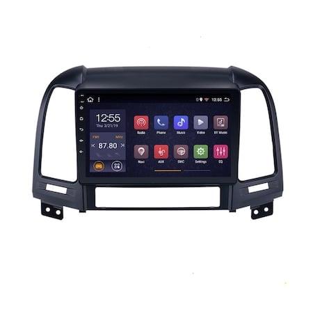 Navigatie NAVI-IT, 1GB RAM 16GB ROM, Android 9.1, Wi-Fi,Bluetooth, Waze, Hyundai Santa Fe, 2005-2012 , 9 Inch0