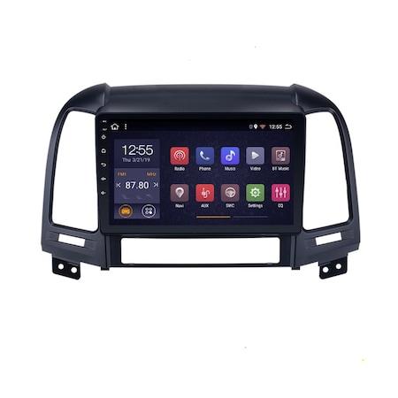 Navigatie NAVI-IT, 1GB RAM 16GB ROM, Android 9.1, Wi-Fi,Bluetooth, Waze, Hyundai Santa Fe, 2005-2012 , 9 Inch2