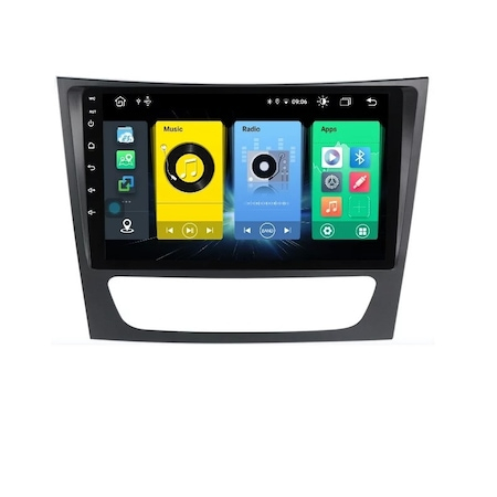 Navigatie NAVI-IT 2GB RAM + 32GB ROM,  Mercedes E Class W211 , CLS W219 , Android , Display 9 inch, Internet ,Youtube , Waze , Wi Fi , Usb , Bluetooth , Mirrorlink - Copie5