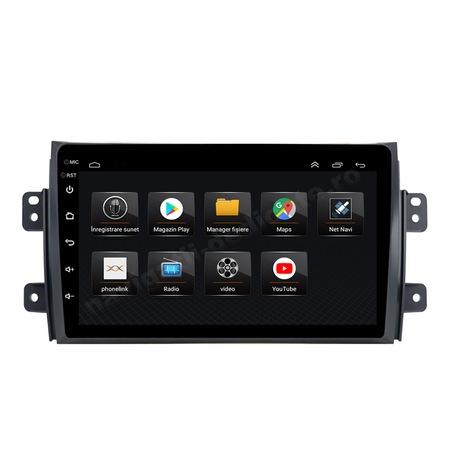Navigatie NAVI-IT, 4GB RAM 64GB ROM, 4G, IPS, DSP,  Android 10, Suzuki SX4 2GB Ram Ecran 9 inch - Copie3