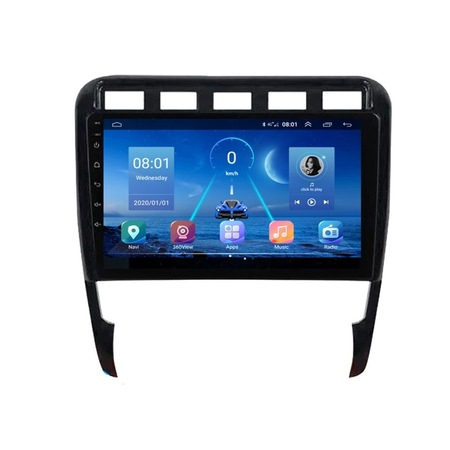 Navigatie NAVI-IT Porsche Cayenne ( 2002 - 2010 ) , Android , Display 9 inch , 2GB RAM +32 GB ROM , Internet , Aplicatii , Waze , Wi Fi , Usb , Bluetooth , Mirrorlink3