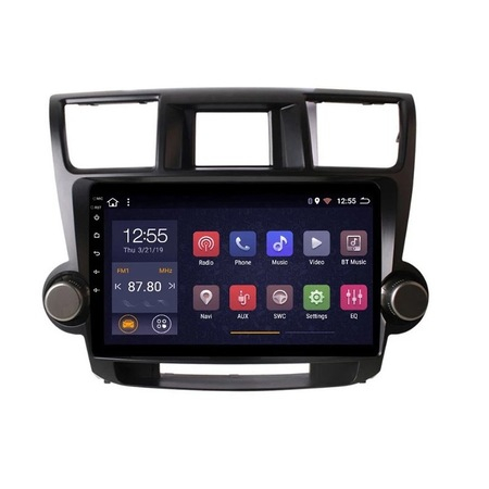 Navigatie NAVI-IT, 1GB RAM 16GB ROM, Android Toyota Highlander ( 2009 - 2014 ) , Display 10 inch, Internet ,Aplicatii , Waze , Wi Fi , Usb , Bluetooth , Mirrorlink3